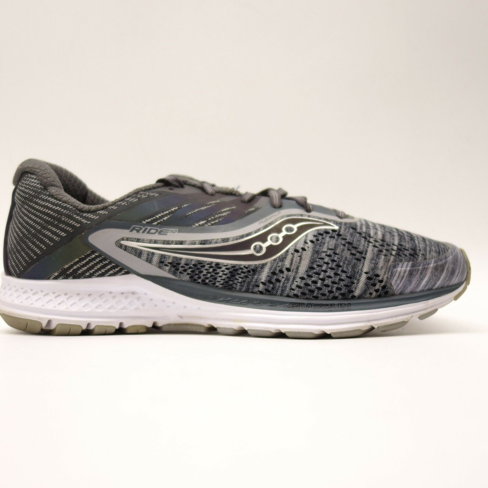 Saucony Mens Ride 10 Everun Mesh Athletic Support Training Running shoes Sz 10.5