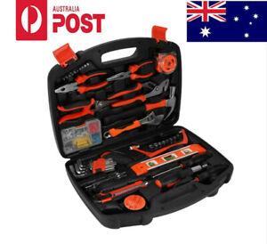 102pcs in 1 Household Tools Garden Home Repair Tool Set Kit Box...