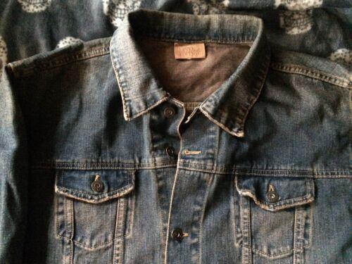 Western True Edition Cowboy Vintage da Trucker blu Desert Rock sbiadita jeans Giacca BUpTwqnz