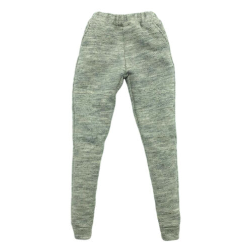 1//6 Scale Doll Pants Sweatpants for 12/'/' Female Action Figure Accessories Gray