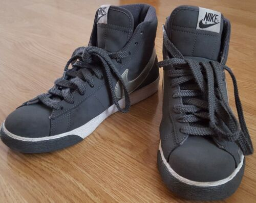 Unisex Ladies Mens 6 Trainers Up Us Shoes Top Uk 8 5 Lace 40 Grigio Nike Eur High BfTW0Rz80q