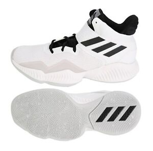 Image is loading Adidas-Men-Explosive-Bounce-2018-Shoes-Basketball-White- 5c02669ce627