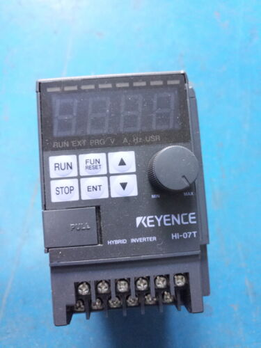 1pcs For Keyence inverter HI-07T 220V in good condition