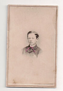 Vintage-CDV-Young-Boy-Walter-Christmas-1885-Photo-by-Ira-Sessions-Olivet-Mich