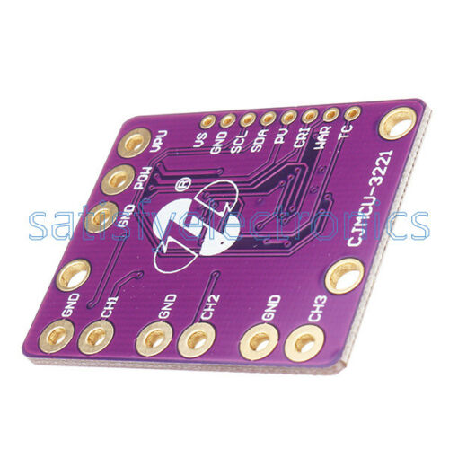 INA3221 3 canales de sensor monitor de voltaje de corriente de shunt reemplazar módulo INA219