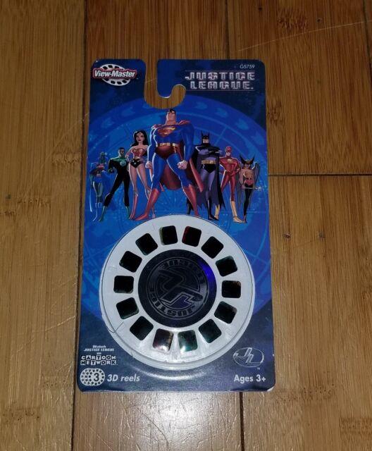 View Master 3-D Justice League