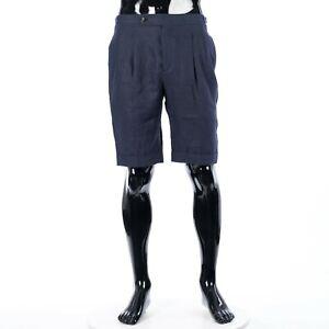 LORO-PIANA-650-Bermuda-Shorts-In-Blue-Linen