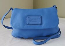 NWT Marc by Marc Jacobs Classic Q Isabelle  Crossbody Electric Blue Leather Bag