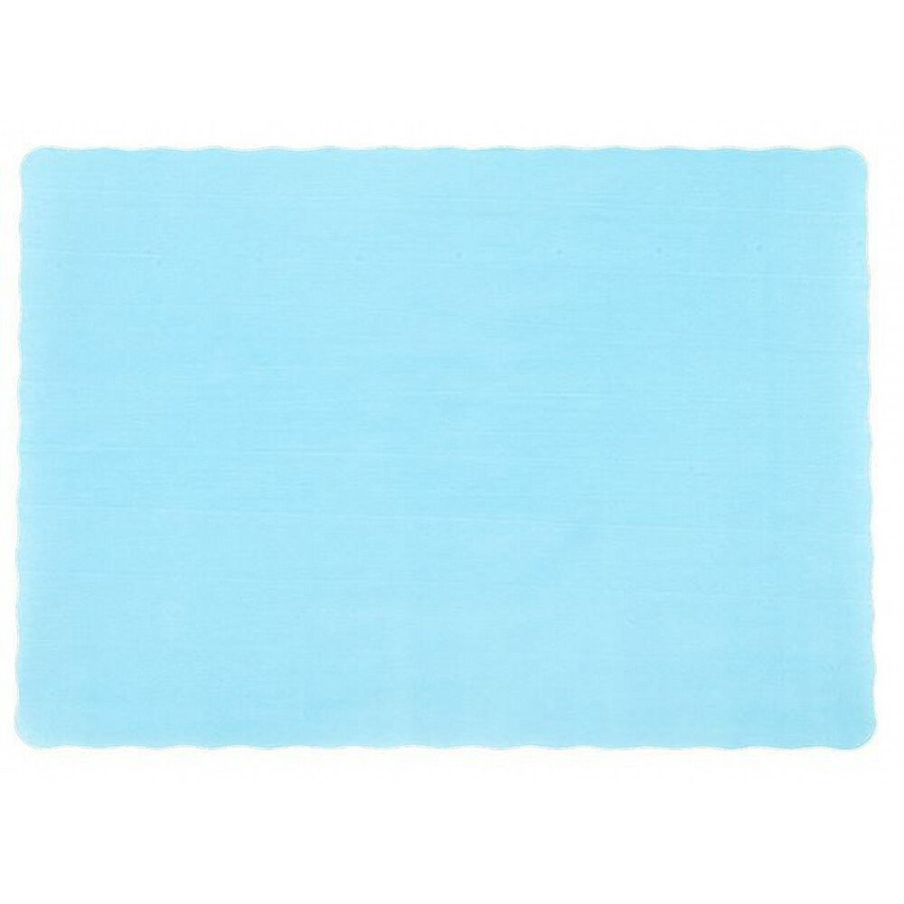 600 Paper Placemats 10  X 14  Dinner Taille 26 Couleurs - Light bleu