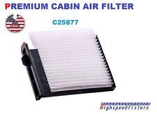 C25877 CABIN AIR FILTER For 07 -14 NISSAN Versa 1.8L & 14-16 Versa CF10545 24829