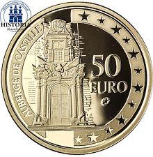 Malta 50 Euro Gold 2008 Goldmünze Kulturelles Erbe Auberge de Castille, Valletta