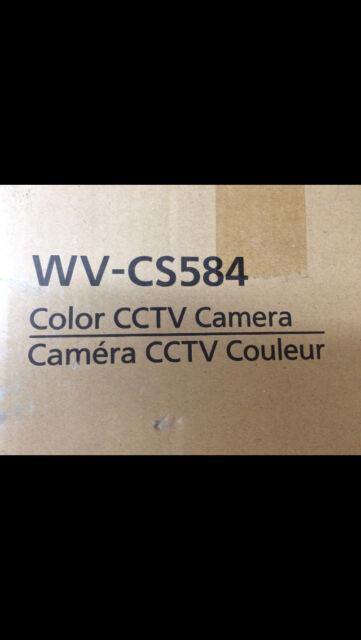 Panasonic WV-CS584 Dome Indoor Day/Night PTZ Color Camera Super Dynamic 6 NIB