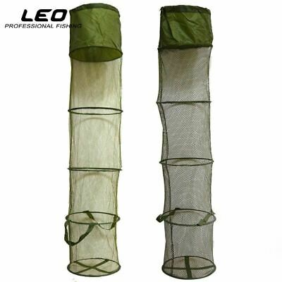 5 Layers Collapsible Fishing Basket Dip Net Fishing Cage to Keep Fish Alive in t