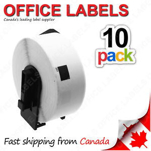 10-Rolls-of-DK-1201-BROTHER-Compatible-Labels-With-1-Reusable-Cartridge