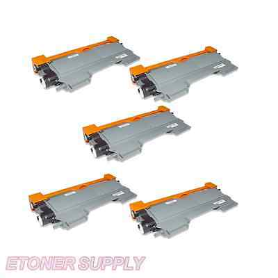 New 5 Pack TN450 Toner Cartridge for Brother MFC-7360N MFC-7460DN MFC-7860DW