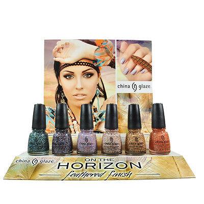 China Glaze Nail Polish Lacquer On the Horizon Collection 0.5floz 14ml