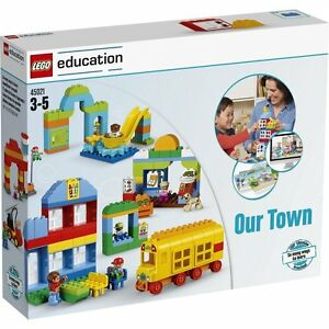 Lego Education Duplo Notre Ville, 45021activity Cartes 278 Pierres