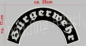 Burgerwehr-Ruckenpatch-Aufnaher-35x17cm