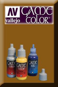 DéTerminé Game Color Brown Ink 72092 Inchiostro Vallejo