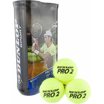 AKTION: Dunlop - Pro Tour 4er gelb Tennisbälle - Begrenztes Kennenlern-Angebot!