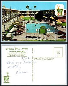 ARIZONA-Postcard-Tucson-Holiday-Inn-034-North-034-K51