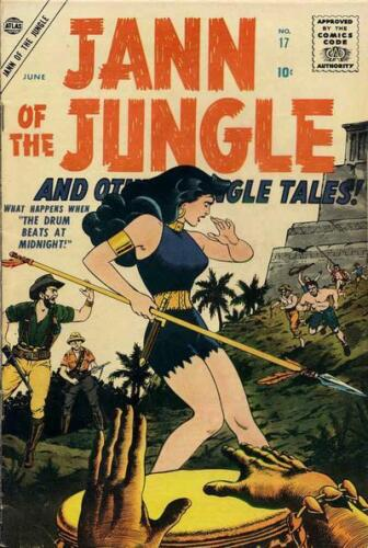 1953-55 Jann of the Jungle Comic collection on CD ROM
