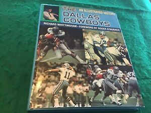 DALLAS-COWBOYS-Illustrated-History-1981-book-by-Richard-Whittingham-ROGER-STAUBA