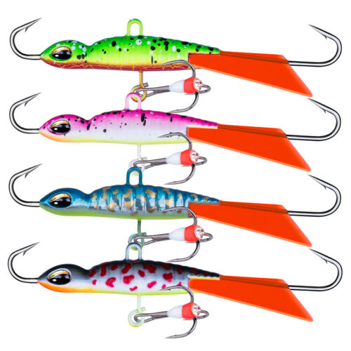 Goture Ice Jigs 7.8cm 16g Lead Wobblers Winter Ice Fishing Lure Pike Perch Bass