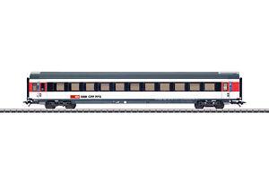 Marklin-h0-42156-schnellzugwagen-tipo-EW-IV-B-2-clase-de-la-SBB-nuevo-embalaje-original