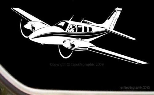 Beechcraft Baron 58 Airplane Pilot Decal-Sticker SK-A-16-14