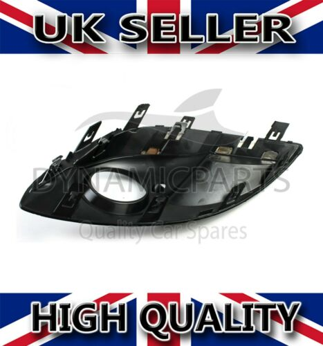 11-14 Vauxhall Corsa D Pare-chocs Avant Brouillard Lampe Grill Avec Capot Chrome Gauche N//S