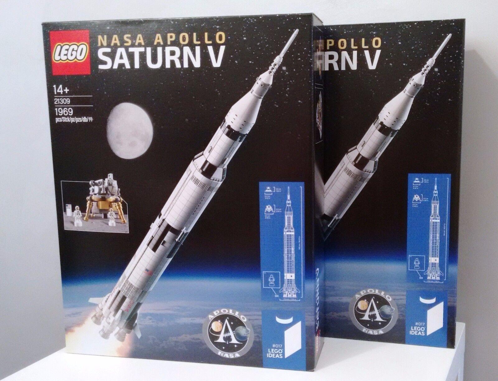 LEGO 21309 Ideas  017 NASA Apollo Saturn V MINT BRAND NEW FACTORY SEALED