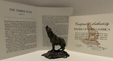 Wardens Of The North Howling Gray And White Wolves Bookends Wolf Figurine Set