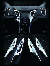 Chrome Premium Interior Molding Kit C363 (Fit:Hyundai Sonata i45 2011 2012 2013)