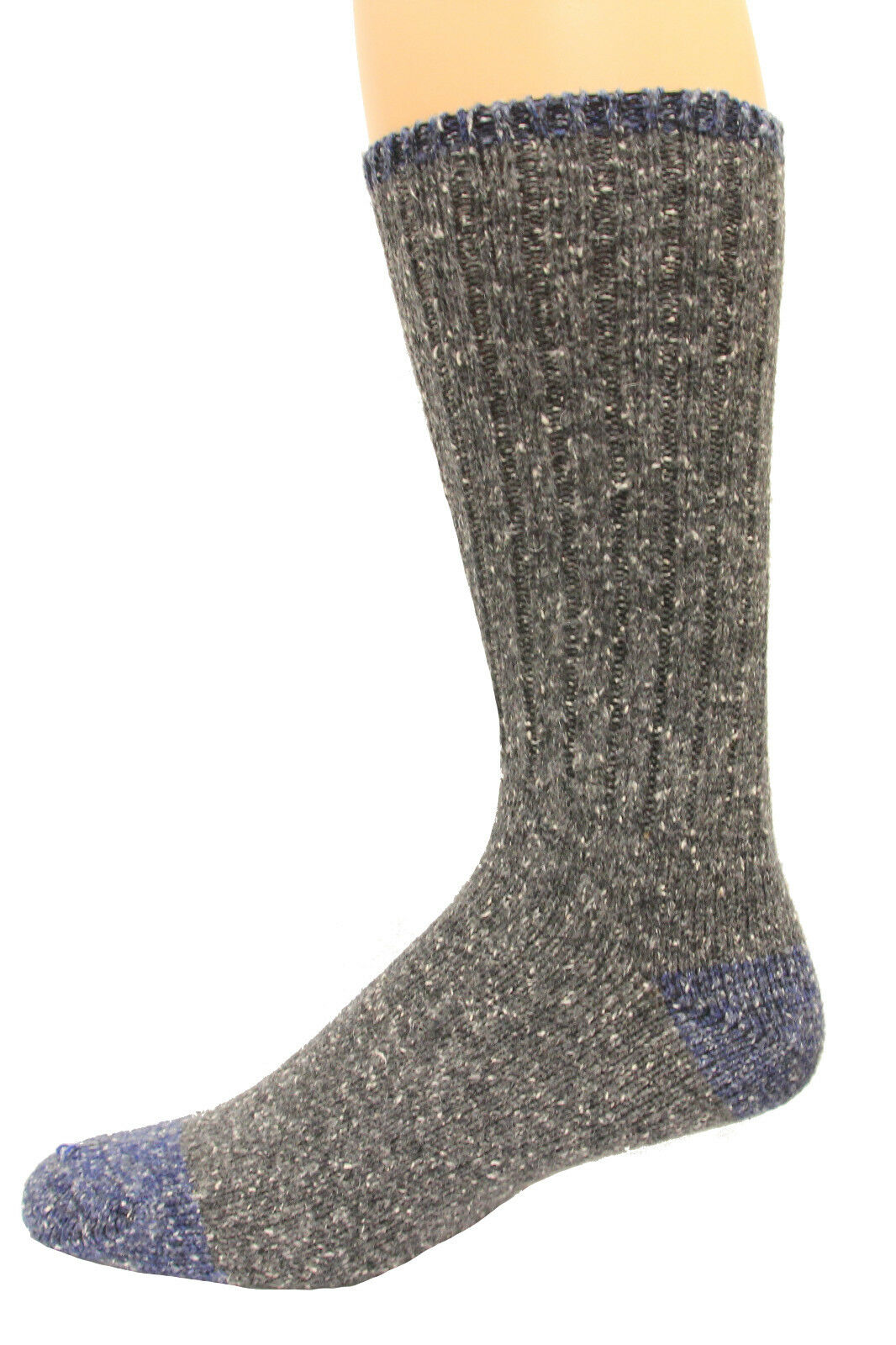 Wise Blend Men's Marl Boot Socks, 1 Pair, Medium, Shoe Size M 9-13 (264)