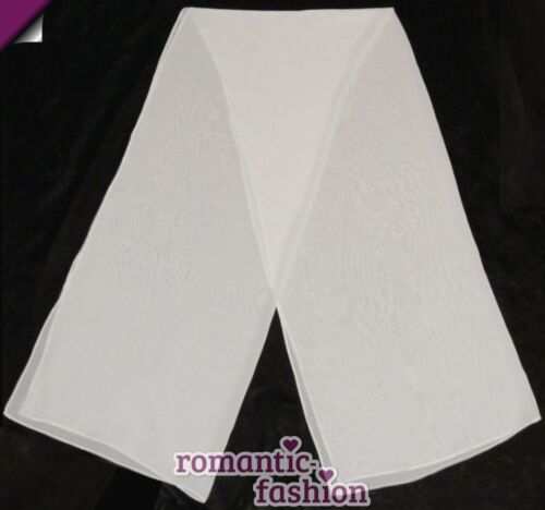 ♥ mousseline étole appropriée pour chaque robe de mariée en blanc ou crème Neuf pl9014 ♥ immédiatement