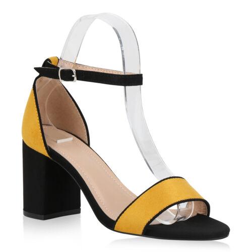 Damen Riemchensandaletten Mid Heel Abendschuhe Party Sandaletten 826235 Schuhe