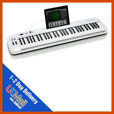 samson carbon 61 midi keyboard controller semi weighted keys 809164014171 ebay. Black Bedroom Furniture Sets. Home Design Ideas