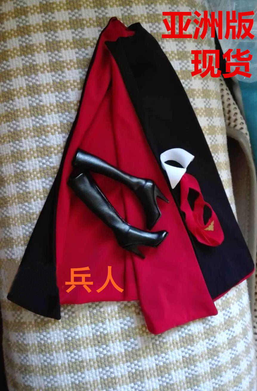 Phicen Vampirella Bikini Stivali & cape For 1/6 HT PH Female Figure Doll Asia ver.