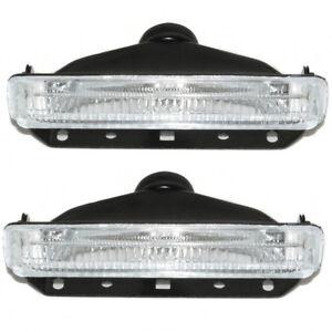 Universal Led Fog  Lights Set Of 2 Car Van Pick Up 4x4 Offroad 12v