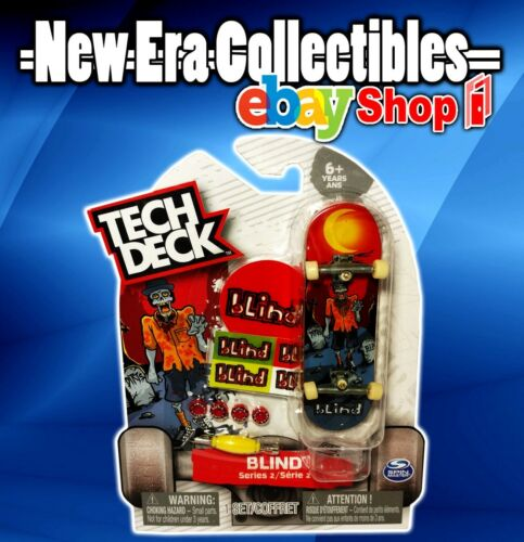 Tech Deck Odd Zombie Youth Series 2 Blind Skateboard 96mm Board With Stand Rare Sports Toys Games