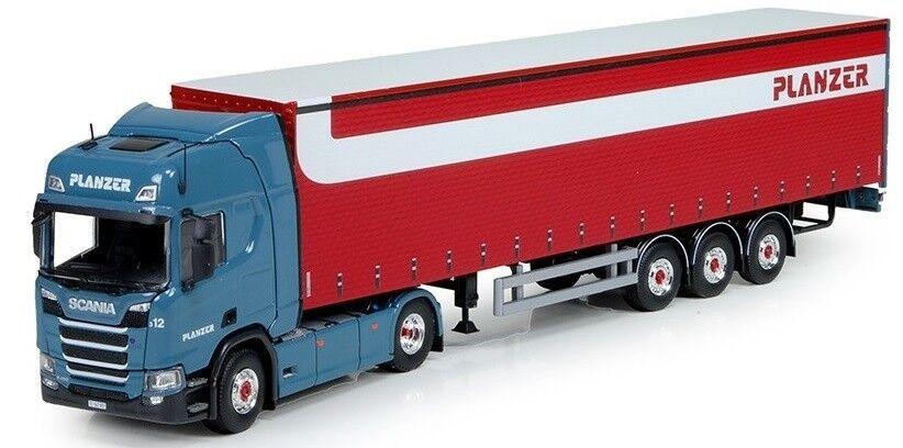 TEK73376 - Camion semi remorque - SCANIA R Highline au couleurs du transporteur