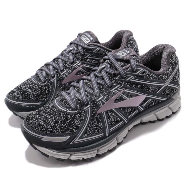 quality design fc7ce fc2b2 Brooks Adrenaline GTS 17 Metallic Charcoal Black Rose Women Running 1202311  B