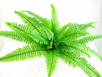 75cm Artificial Silk Boston Fern Bush Plant for Conservatory Office Decorations