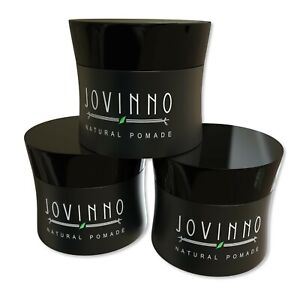 Jovinno Premium Natural 1 7oz Water Based Hair Styling Pomade Hair Wax 3 Pack Ebay