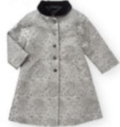 NWT VINTAGE GYMBOREE PRIM /& PROPER GIRLS SILK BROCADE HOLIDAY DRESS COAT 12-18