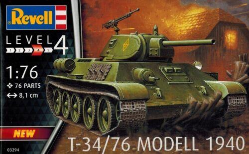 1:76 Revell 03294 76 Modell 1940 T 34