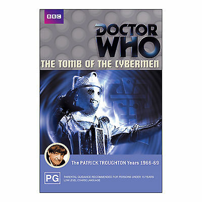 Doctor Who: The Tomb Of The Cybermen DVD Brand New Region 4 - Patrick Troughton
