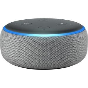 Amazon Echo Dot (3rd Gen) Smart Speaker With Alexa Grey