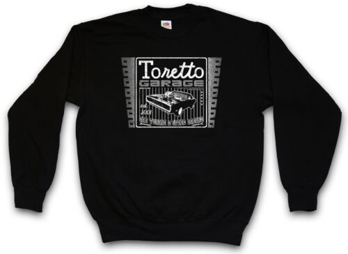 TORETTO GARAGE SWEATSHIRT The 2 Fast Tuning And Car Furious Movie Sweat Pullover